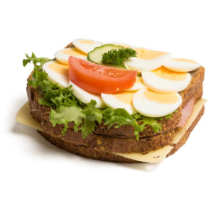 Lunchpakker, grove